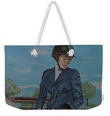 Horseshow Day Weekender Tote Bag