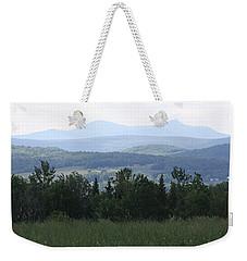 Jay Peak From Irasburg Weekender Tote Bag