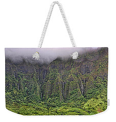 Ko'olau Waterfalls Weekender Tote Bag by Dan McManus