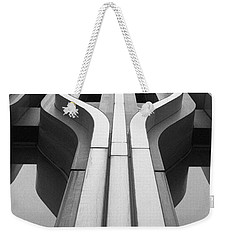 Look Up A Twin Tower Weekender Tote Bag by Darcy Michaelchuk