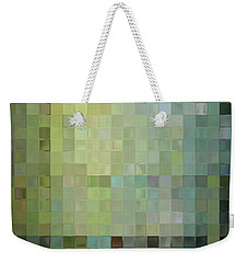 Modern Tile Art One Modern Decor Collection Weekender Tote Bag by Mark Lawrence