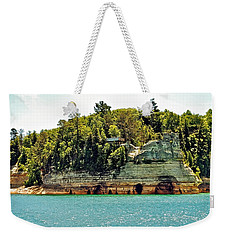 Pictured Rock 6323  Weekender Tote Bag by Michael Peychich