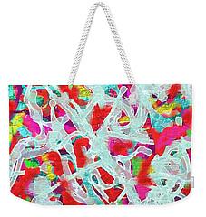 Weekender Tote Bag featuring the digital art Sexy by Vannetta Ferguson