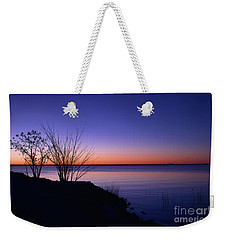 Simply Gentle Blue Weekender Tote Bag