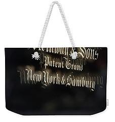 Steinway Original Grand Weekender Tote Bag