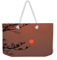 Sun Blossoms Nature Asia  Weekender Tote Bag