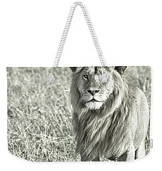 The King Stands Tall Weekender Tote Bag by Darcy Michaelchuk