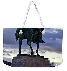 Washington Monument At West Point Weekender Tote Bag by Dan McManus