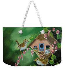 Welcome Wrens Weekender Tote Bag