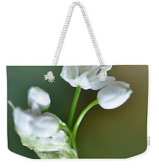 White Blossom 3 Weekender Tote Bag