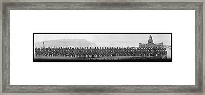 4th Co. 3rd Corps. 1st Artillery Park Framed Print by Fred Schutz Collection