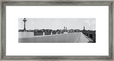 Connecticut Ave Bridge, Washington Dc Framed Print