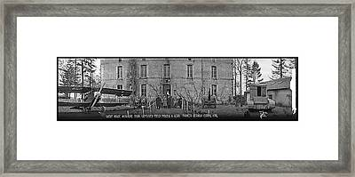 Guest House, Moraigne Farm, Captured Framed Print