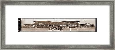 Washington Baseball Team, Johnson Jate Framed Print