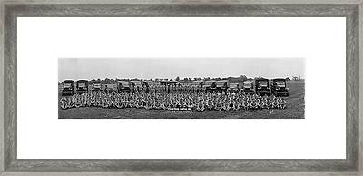 218th Hospital Unit Fort Belvoir Va Framed Print