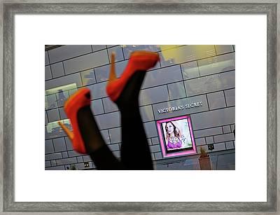 New York City Images By Nano Calvo Framed Print