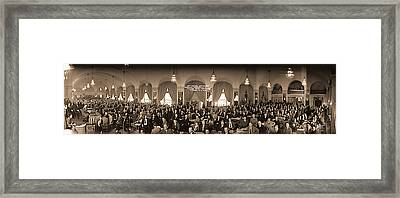 53rd Annual Convention American Framed Print