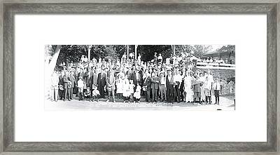 9th Annual Excursion Marshall Hall Md Framed Print