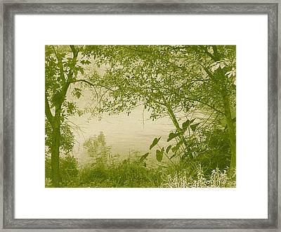 A Moment Of Peace Framed Print by Wendy J St Christopher