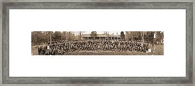 Annual Outing Washington Lodge 15 Bpo Framed Print