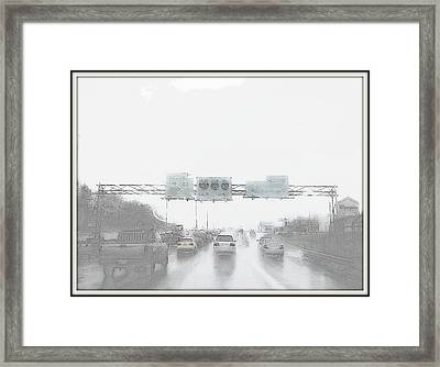 Another Rainy Day Framed Print by Angelia Hodges Clay
