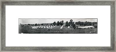 Camp Newayo, New York State Troopers Framed Print