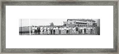 Chamber Of Commerce Golf Outing Framed Print