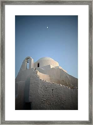 Church Of Panagia Paraportiani Framed Print by Nano Calvo
