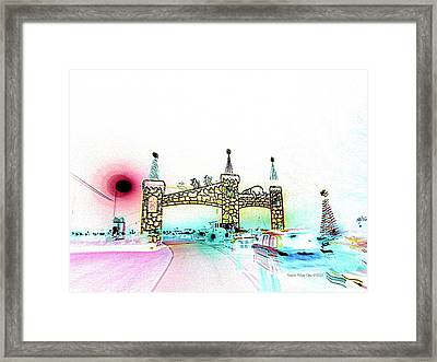 Cinderella Castle  Framed Print by Angelia Hodges Clay