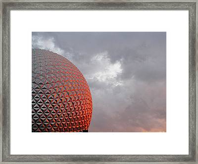 Epcot Framed Print by Greg Simmons