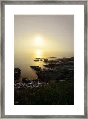 Flicker Of Twilight Framed Print by Lourry Legarde