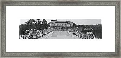 Garden Party Congressional Country Club Framed Print