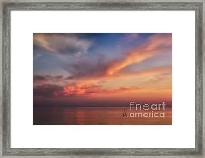 Good Morning Cape Cod Framed Print by Susan Candelario