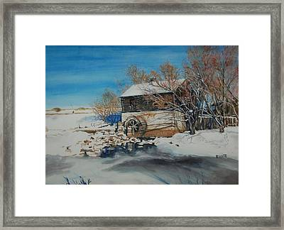 Grants Old Mill Framed Print by Susan Moore
