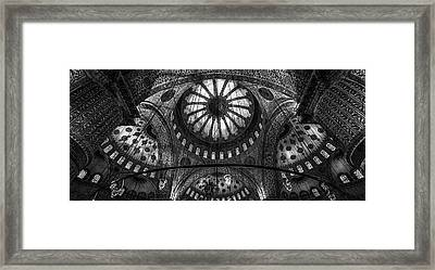 Istanbul - Blue Mosque Framed Print