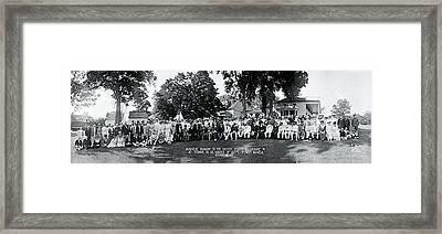 Japanese Mission To The Us Mt Vernon Va Framed Print