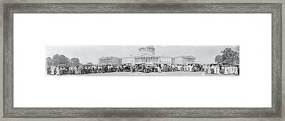Lanscaster Automobile Club Washington Dc Framed Print