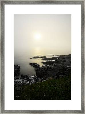 Limelight Of Beyond Framed Print by Lourry Legarde