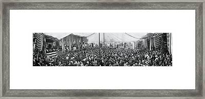 Memorial Day Arlington Va 1917 Framed Print
