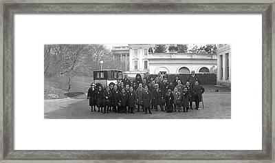 Midgets Washington Dc Framed Print by Fred Schutz Collection