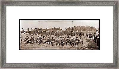 Mohawk Jr, Football Team, Oct 1921 Framed Print