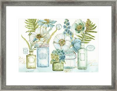 My Greenhouse Bouquet I Framed Print