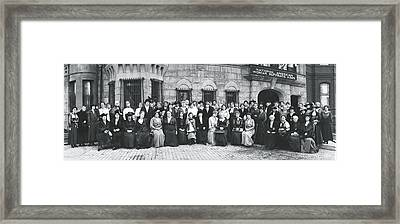 National American Woman Suffrage Framed Print