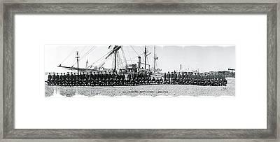 Nautical School Ship Uss Ranger Framed Print