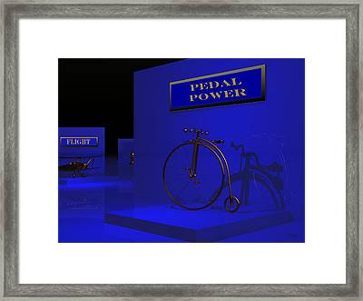 Night At The Museum Framed Print