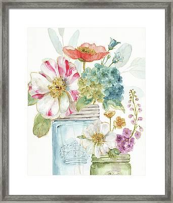 Rainbow Seeds Flowers Ix Framed Print