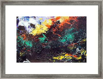 Schizophrenia Framed Print by Sergey Bezhinets