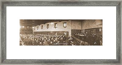 Shipping Industry Nra National Recovery Framed Print