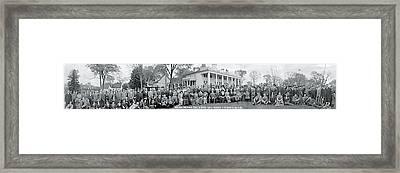 Shriners Delegation Mount Vernon Va Framed Print