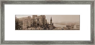 Stolzenfels Castle Koblenz Germany Framed Print by Fred Schutz Collection